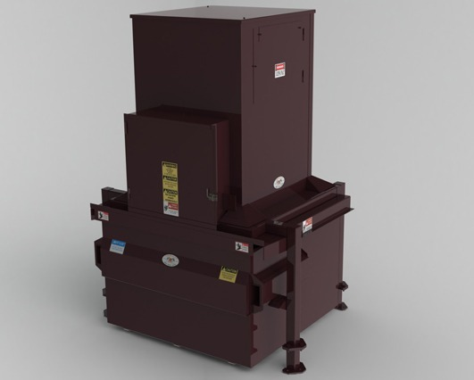 Cram-A-Lot VCH Vertical Trash Compactor