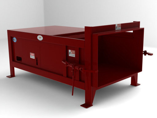Cram-A-Lot Stationary Trash Compactor